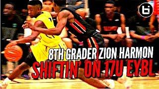 8th Grader Zion Harmon EATIN