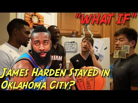 """""""WHAT IF"""" James Harden Never Left Oklahoma City Thunder"""