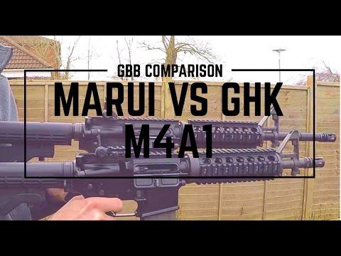 Marui M4A1 MWS VS GHK M4