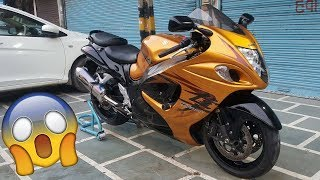 Buying Superbike From Youtube Money | HAYABUSA