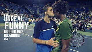 Tennis. Funny Moments - Part 1