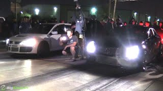 Dig Only - Nitrous CTS-V Handing out the D in Texas!