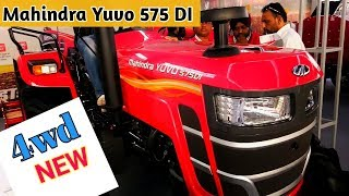 New Mahindra Yuvo 575 di 4wd Tractor Price Specifications | Tractors ki Duniya