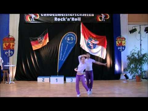 Kim Geiger & Patrick Strauß - Landesmeisterschaft Hessen 2012