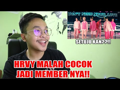 Download NCT DREAM X HRVY 'Don't Need Your Love' MV REACTION Mp4 baru