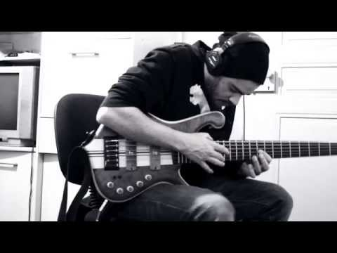Alice In Chains - Nutshell Cover With Only Bass!! (6 Strings Bass Remix) video