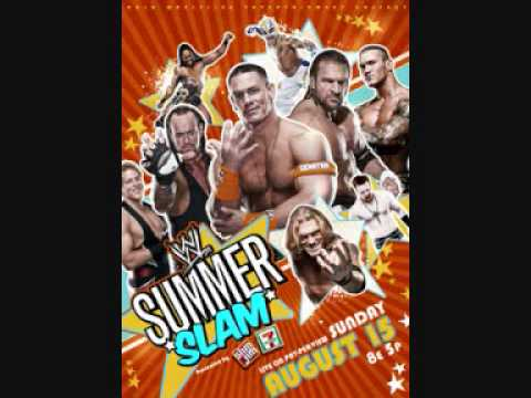Summerslam 2010 Ppv Poster Official