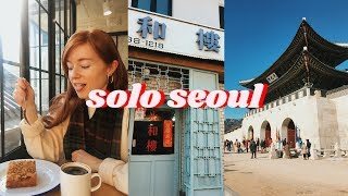 Some Solo Time in Wintery Seoul, Korea | Vlog ft Ana Luisa
