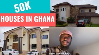 Houses in Ghana that cost less than 50k