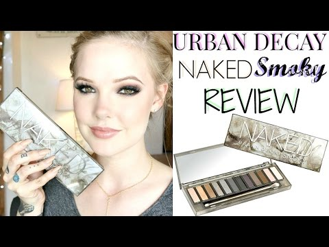 URBAN DECAY NAKED SMOKY PALETTE REVIEW & SWATCHES
