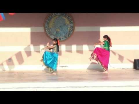Indian Dance: Snake Holahoop Dance - Asian Cultural Festival 2013
