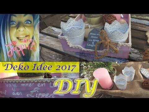 DIY DEKO IDEE unter 5€ für SOMMER / FRÜHLING - Balkon,Terrasse oder Wohnung / Deutsch