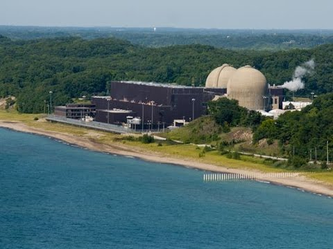 Cook Nuclear Plant in Bridgman has been leaking oil into Lake Michigan