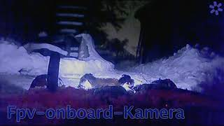Fpv Rc Autofahrt im Schnee in Echtzeit (rc car drive in snow, only in fpv real time)