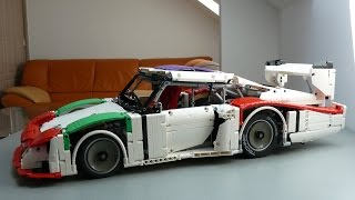 Lego Technic Porsche 935 Moby Dick 1978 Rebrick Porsche Contest 2016 (xtd version) by dokludi
