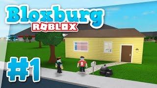 Bloxburg #1 - BRAND NEW HOME (Roblox Welcome to Bloxburg)