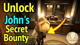 Unlock John's Secret Bounty in Red Dead Redemption 2 (RDR2): Anthony Foreman Bounty Hunt