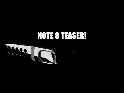 Samsung Galaxy Note 8 Teaser | Infinity Display At It's Best!