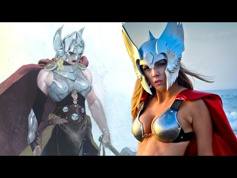 Thor Is Now A Girl - Sexy Thor