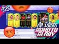 RAGE SELLING MY NEW TEAM!!! AN IDIOTS FIFA 19 ROAD TO GLORY!!! Episode 23