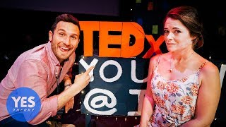 Asking Strangers to Fly Across the World to give a TED Talk with us!!