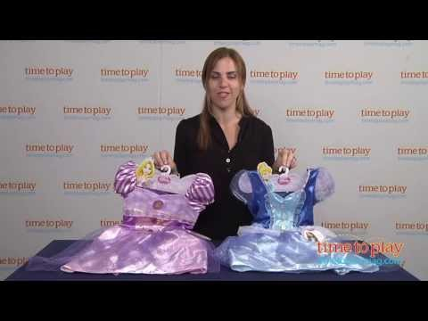 Disney Princess Sparkle Cinderella and Rapunzel Dresses from CDI