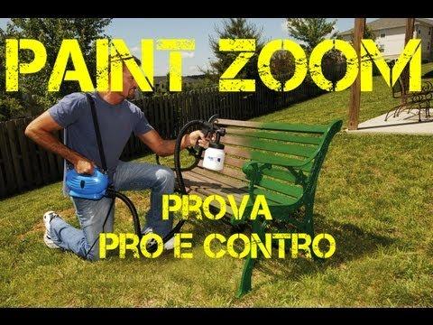 Paint Zoom - Pitturare senza fatica. Pro e Contro