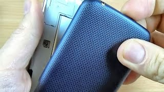 LG K4 - How to remove the back cover