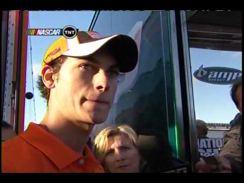 2010 Gilette Fusion ProGuide 500 - Joey Logano vs. Kevin Harvick (Round 2) Video