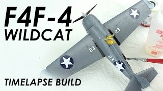 Building Airfix F4F-4 Wildcat - Model Aircraft