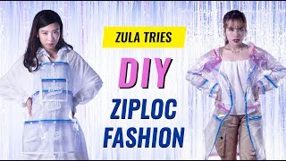 ZULA Tries: Wearing A ZIPLOC Coat For A Day! | EP 11