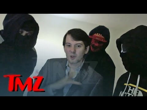 Martin Shkreli -- Shut Your Mouth Ghostface Killah ... My Goons Will Take You Out!!