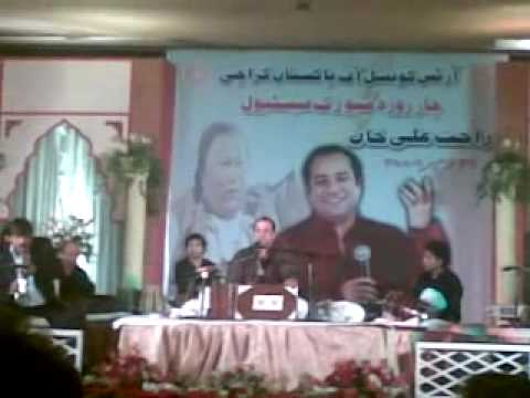 Sanware Tere Bina - Live Rahat Fateh Ali Khan  Arts Council Karachi video