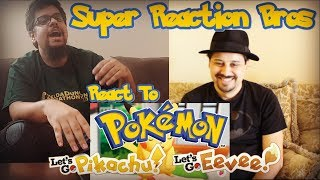 SRB Reacts to Explore the World of Pokémon, Let's Go Pikachu! and Let's Go Eevee