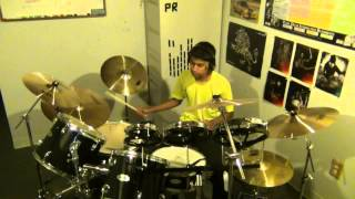 Thuppakki - Tamil Drum Cover: Antarctica (Movie: Thuppakki)