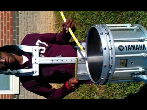 Paul W. Bryant High School Drumline (Jamar Snare solo 3)