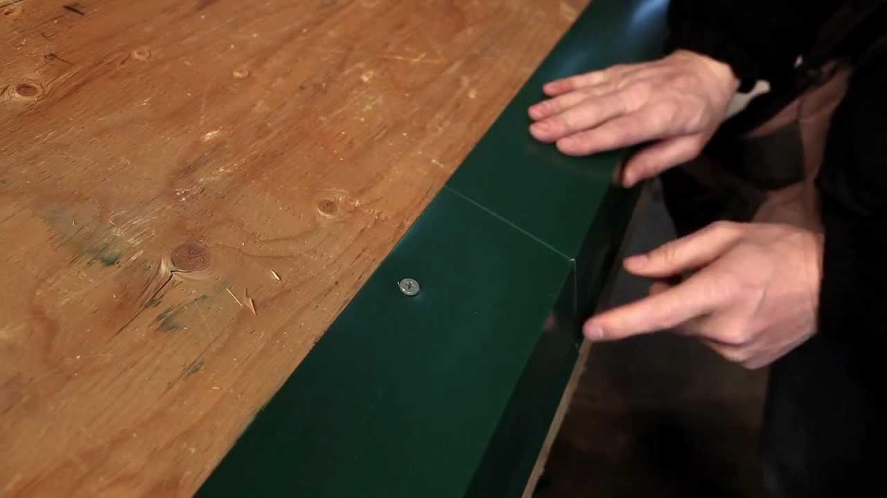 Exposed Fastener Panel Eave Trim Installation Denver