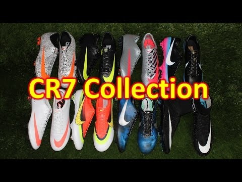 History of the Nike Mercurial CR7 Collection