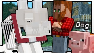 Minecraft | GRIM'S DOG SHOW!! | Custom Mod Adventure