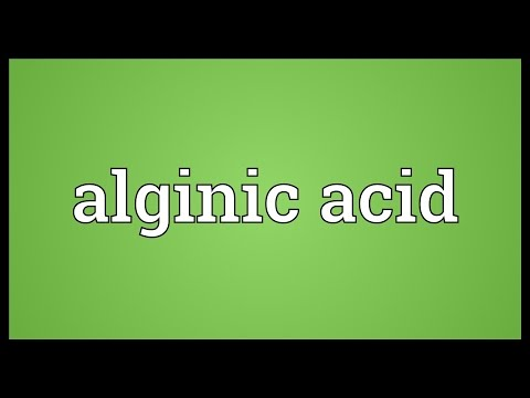 Header of Alginic acid