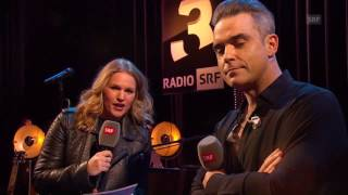 Robbie Williams SRF Radio Interview 2016