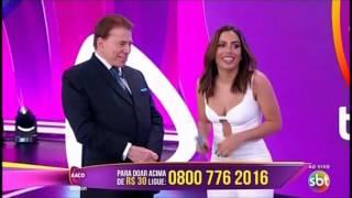 Silvio Santos dá indireta para a Anitta