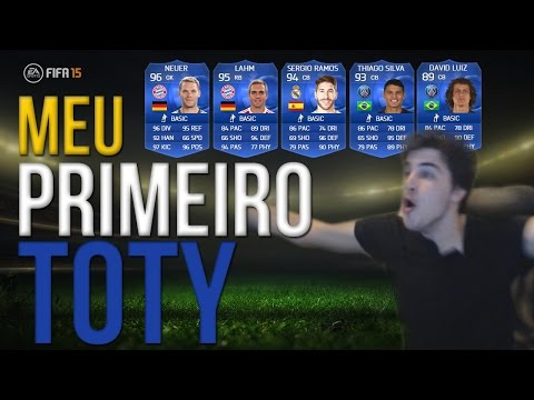 PRIMEIRO TOTY - Pack Opening FIFA 15 Ultimate Team