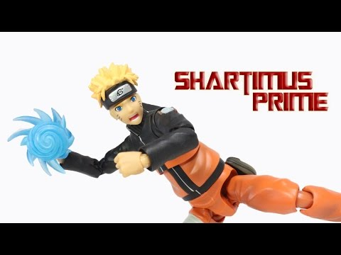 SH Figuarts Naruto Shippuden Bandai Tamashii Nations Action Figure Review