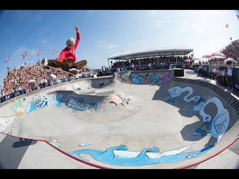 3rd Place Run, CJ Collins 85.31 | Huntington Beach, 2017 Pro Tour | Vans Park Series