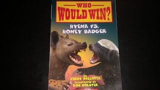 Who Would Win? HYENA VS. HONEY BADGER