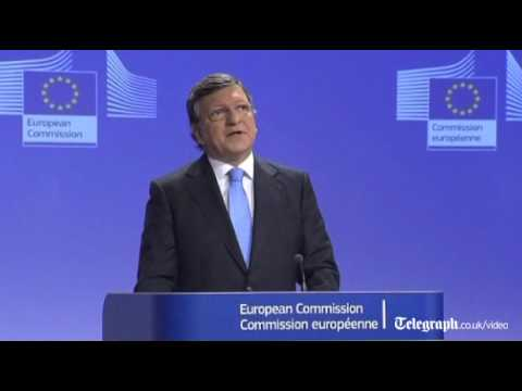 European Commission President Barroso 'proud' EU won Nobel p