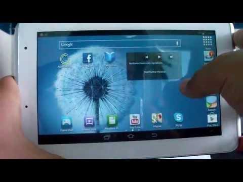 Análise Samsung galaxy tab 2 7.0 Wi-Fi android 4.1 Jelly Bean