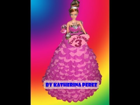 BARBIE PINATA / BARBIE DOLL PINATA