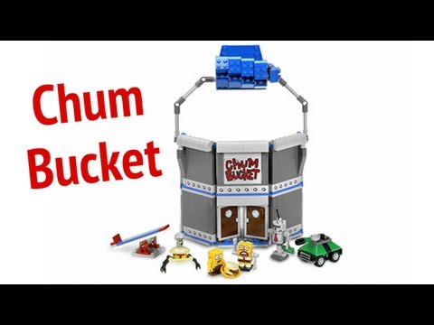 LEGO Chum Bucket LEGO 4981 SpongeBob SquarePants Review